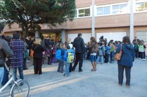 Porta de l'escola Torre Llauder | Foto: Aj. Mataró