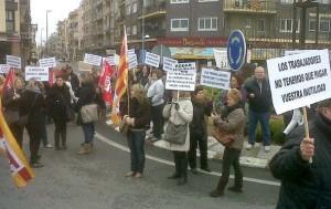 La protesta d'aquest dimecres | Foto: Facebook
