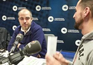 Miquel Buch, durant l'entrevista | Foto: CR