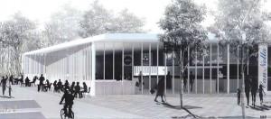 Projecte del nou centre comercial | Imatge: Aj. Vilassar Dalt.