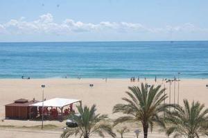Una de les platges del Masnou | Foto: A.M.