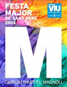 Cartell: Festa Major de Sant Pere 2013