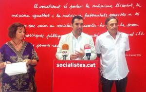 La roda de premsa | Foto: PSC Maresme