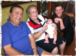 La quatre generacions Cirera-Nuñez-Boukhris