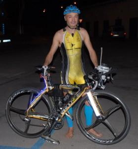 El triatleta Daniel Aranda | Foto: D.A.