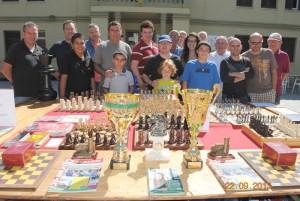 Foto de grup d'alguns dels participants