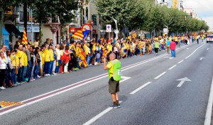 La Via Catalana al Masnou | Foto: Alicia