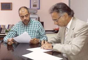 Signatura a l'Ajuntament | Foto: PIMEC