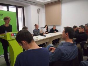 L'Assemblea ICV a Calella