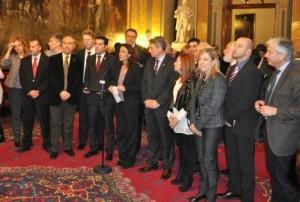La delegació catalana | Foto: ACM