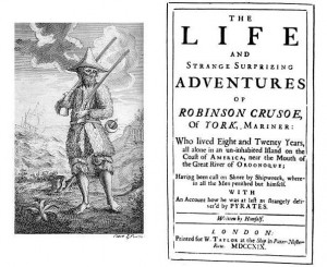 Portada: 'Robinson Crusoe' (