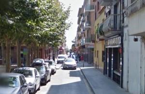 Carrer Cervantes de Calella | Foto: G.M.