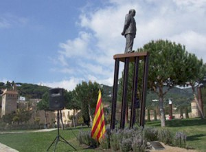 Inauguració de l'estàtua | Foto: Aj.