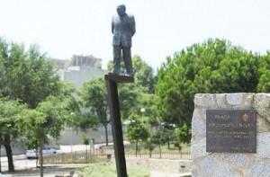 L'estàtua de Jordi Pujol | Foto: Aj. Premià Dalt