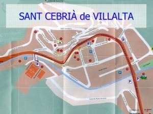Plànol: Bus Sant Cebrià