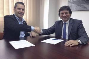 Signatura de l'acord | Foto: gencat