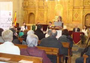 Lectura del text de Jordi Amat i Teixidó