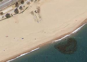 Platja Malgrat centre | Imatge: Google Maps