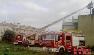 Imatge del rescat | Foto: Bombers Generalitat