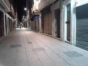 El Carrer de Sant Joan, sense bosses