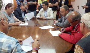 Signatura de l'acord | Foto: A.P.